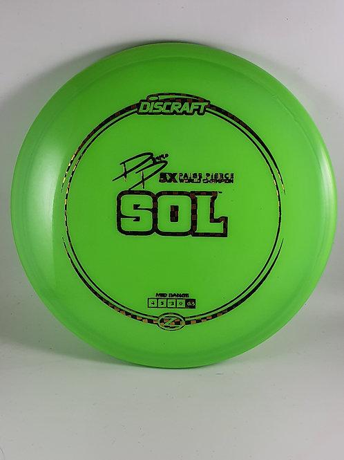 Z Sol ~ 4, 5, -3, 0