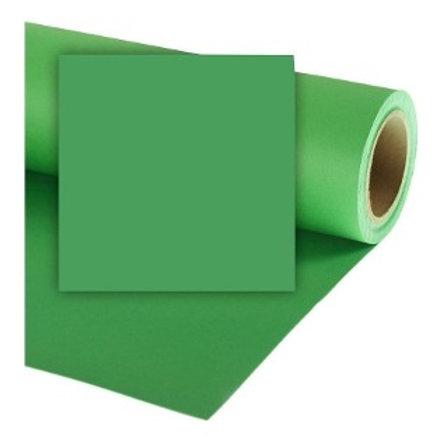Ciclorama de papel verde chroma 2.70x11mts.