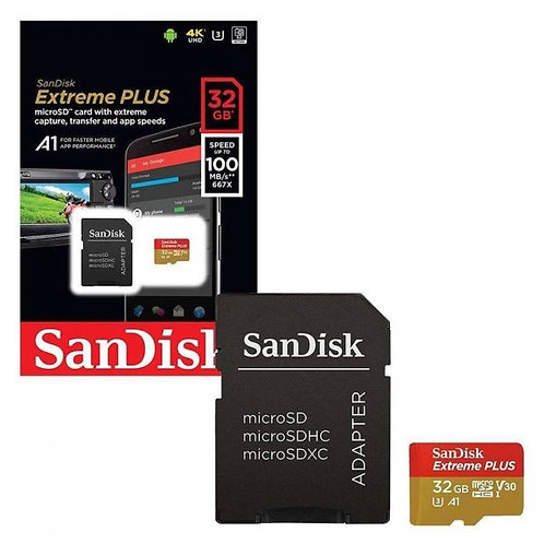 Memoria Sandisk Extreme 4K Micro SD 32GB 100MB/s 667X