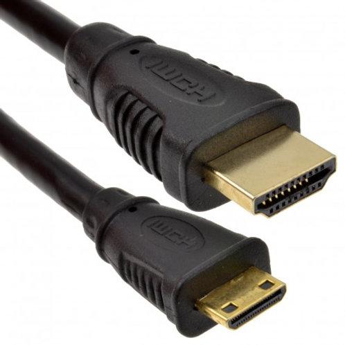 Cable HDMI-HDMI mini 1.40mts