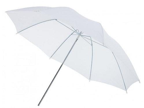 Sombrilla blanca translucida 83cm