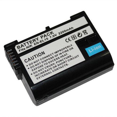 Batería genérica EN EL15 para cámaras Nikon