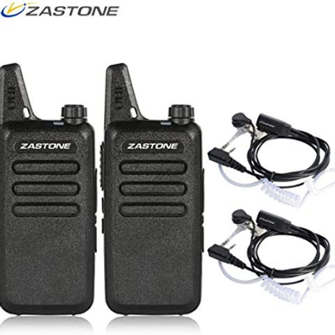 Kit Radios Zastone X6 de 2 vías recargables