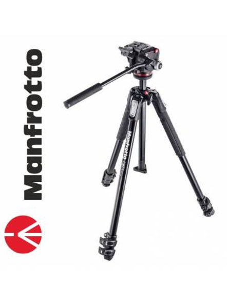 Tripie Manfrotto SEMINUEVO MK190X3-2W Foto y Vídeo