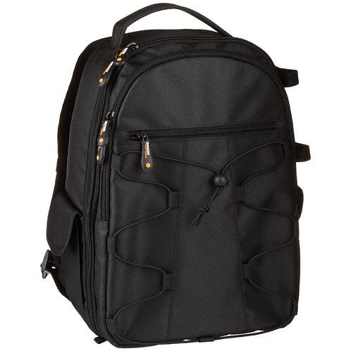 Backpack negra Amazonbasics para Cámara DSLR