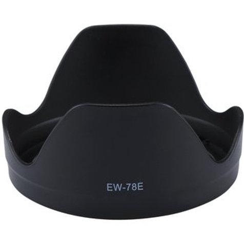 Parasol genérico EW 78E para lente Canon