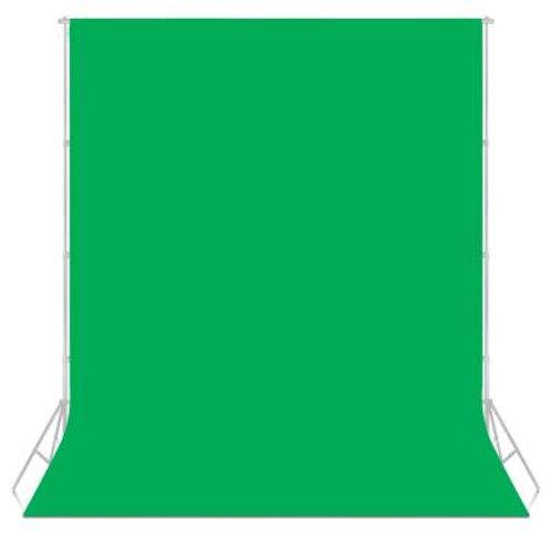 Fondo de tela verde Neewer para foto y video 2.80x4.0 mts.