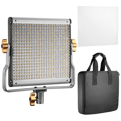 Kit lámpara Neewer 480 leds Bicolor+eliminador de corriente