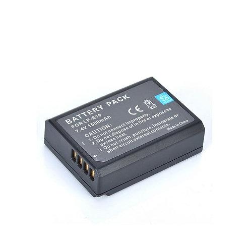 Batería genérica LP E10 para cámaras Canon