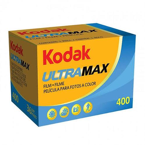Rollos fotográficos 400 Ultramax Kodak con 2 piezas