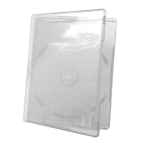 Torre 10 estuches sencillos DVD plástico cristal