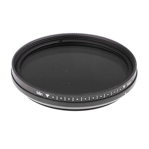 Filtro 52 mm ND2-ND400 para cámaras de foto video