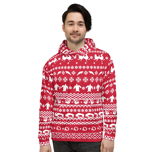 EPI Holiday Hoodie- Red