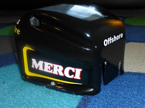 Merci Motor cowling with stickers (gas motor
