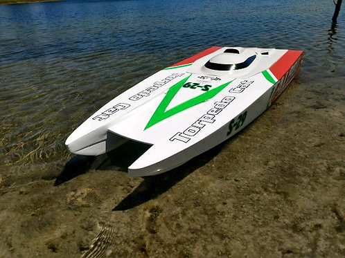 AR54 Torpedo Cat twin outboard electric RTR