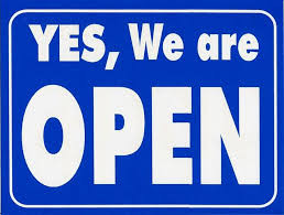 UPDATE (6/01/2020) - YES, WE ARE OPEN