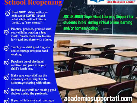 7 Things Parents Should Do To Prepare Students for School Reopening