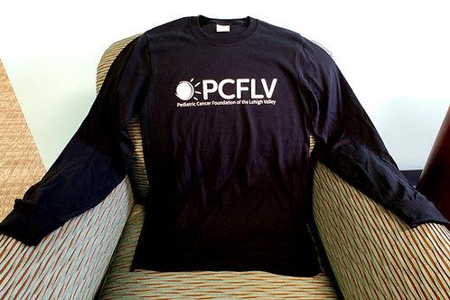 PCFLV Long Sleeve Black Tee