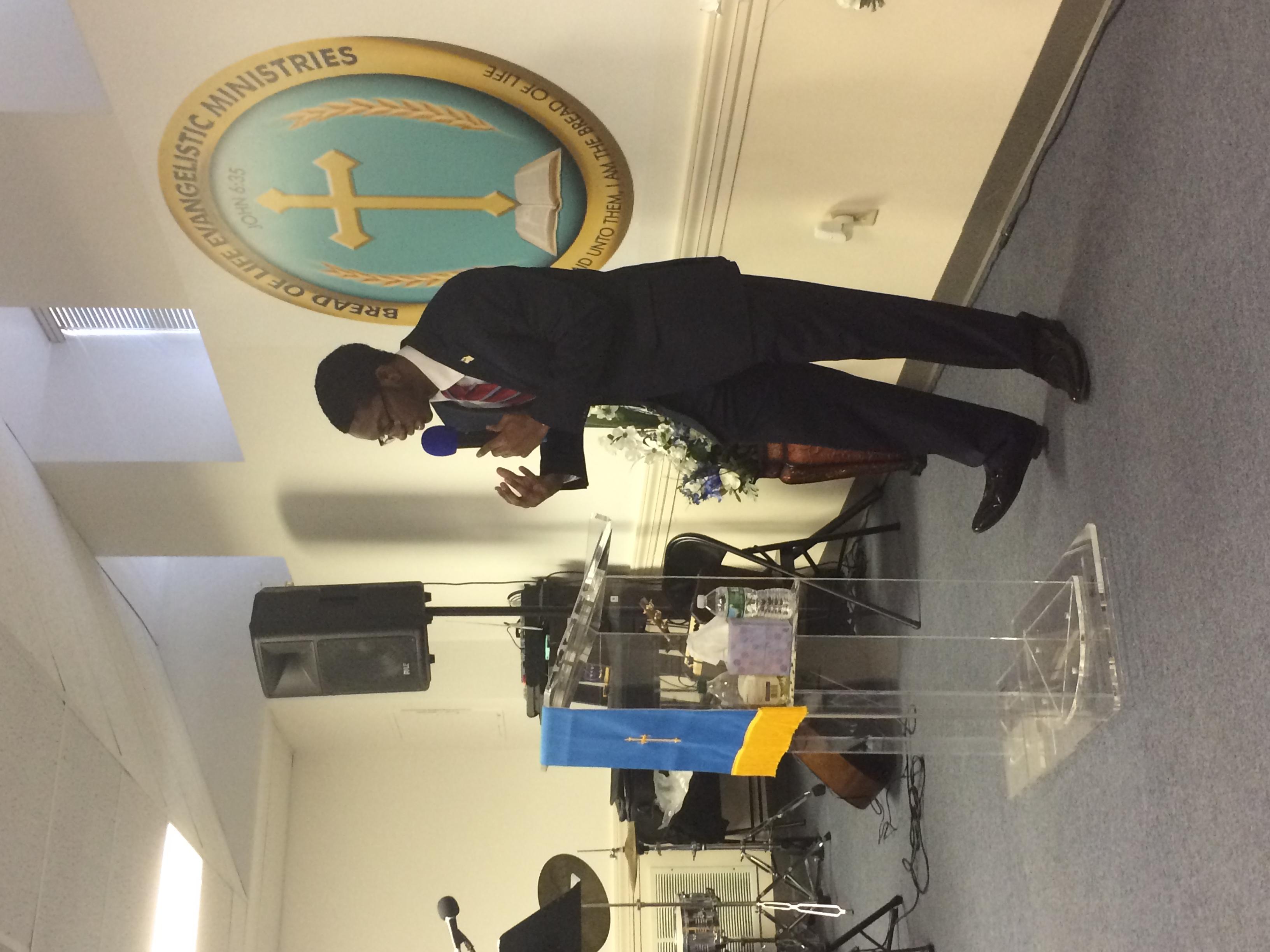 Rev. Ed Ford Jr