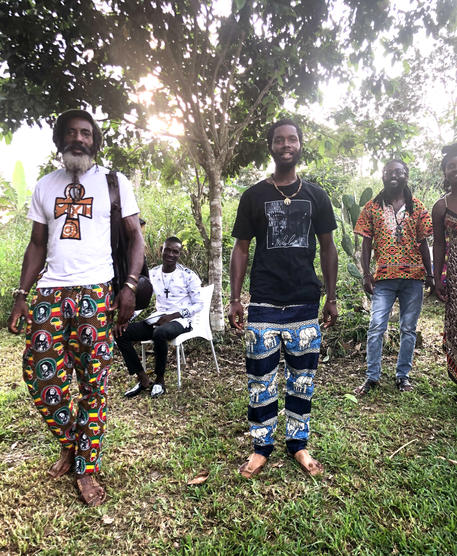 Continental and Diasporan Afrikan Men at an Event