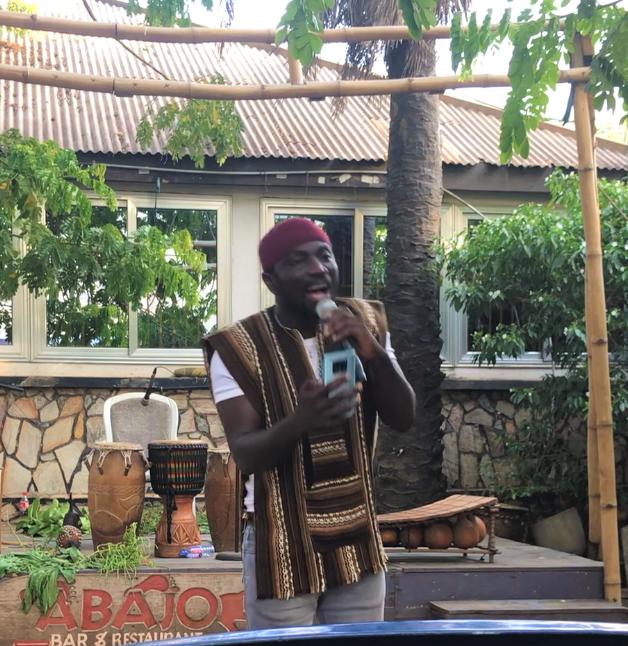 Iti Bobo Spoken Word Artist