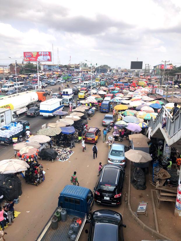 A Portion of Madina Marketplace
