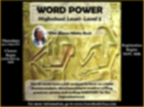 WORD POWER LV 2 HIGHSCHOOL WINTER 2020 F