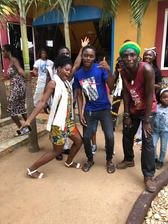 Young People Having Quality Fun At Palace Afrika