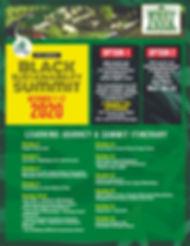 Black Sustainability Summit Itinerary (1