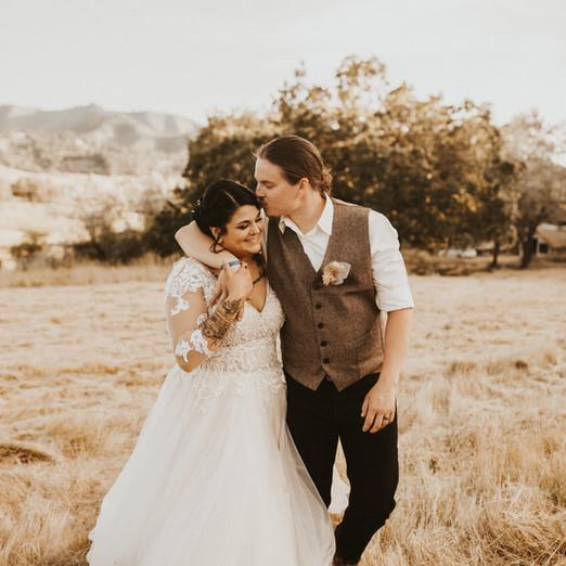 Anderson Wedding // Boho Backyard Wedding