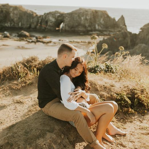 Brooke & Brad Coastal Engagement