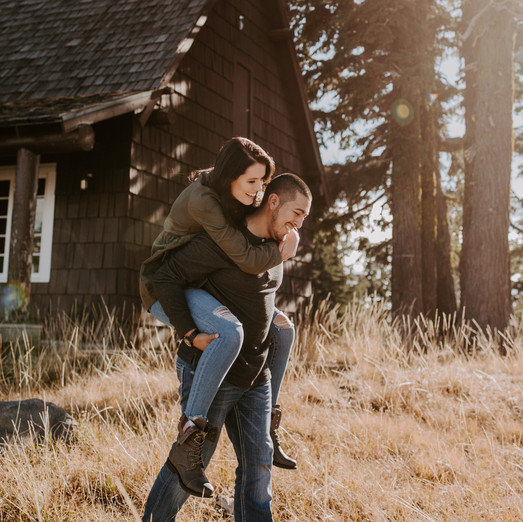 Jessica & JR | Crater Lake Engagement