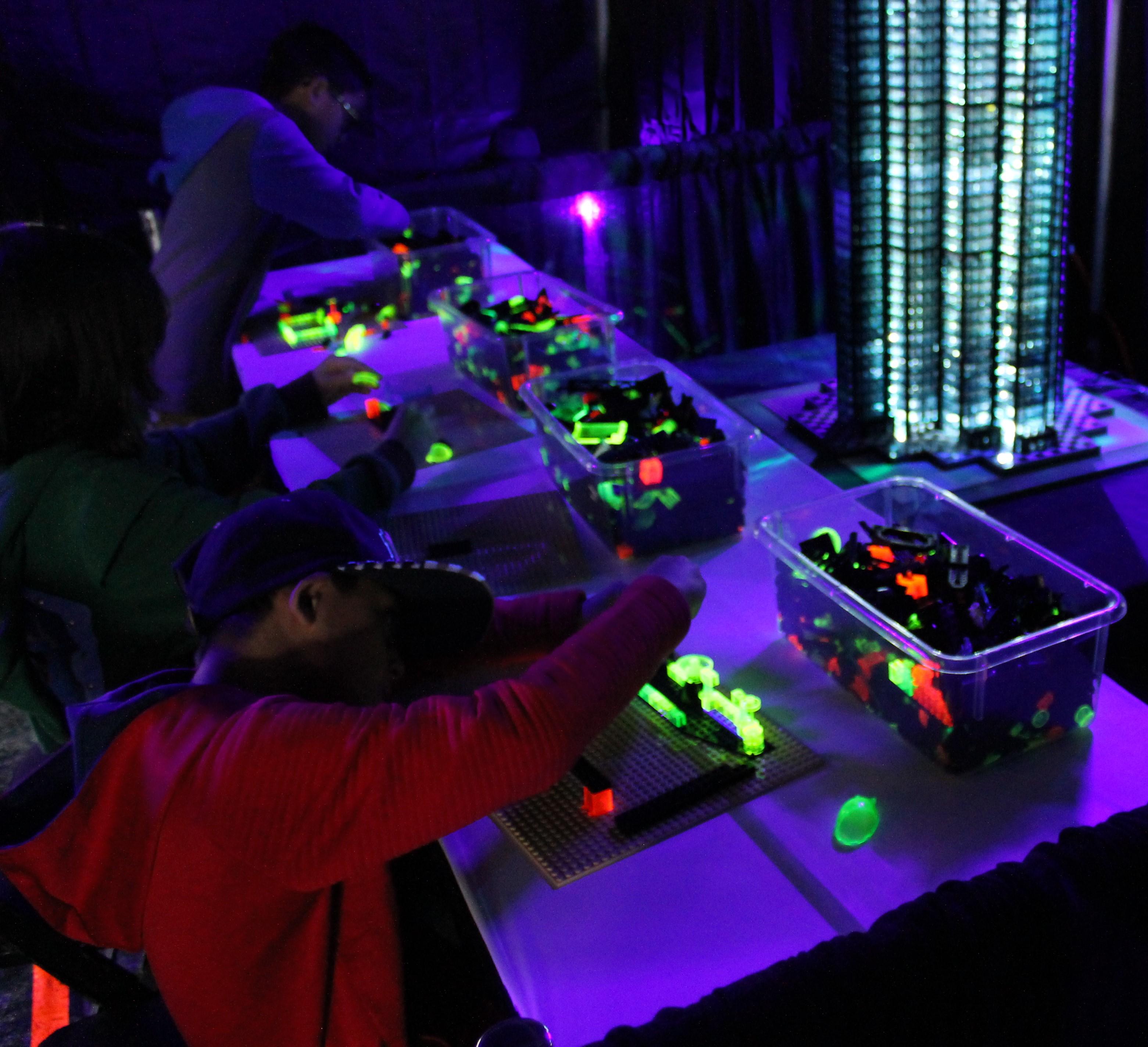 Glowing Lego