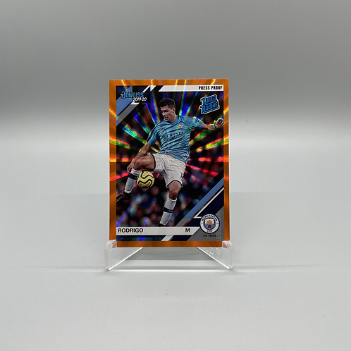 2019 - 2020 Donruss Rated Rookie Holo - Rodrigo #104