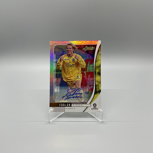 2019-2020 Chronicles Absolute Soccer -  Diego Forlan Auto #AB-10