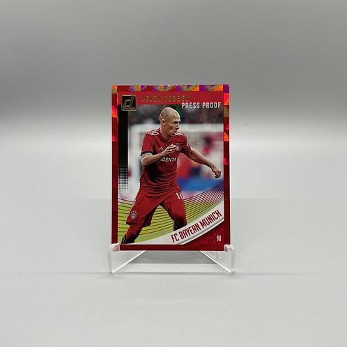 2018-2019 Donruss Press Proof - Arjen Robben #19