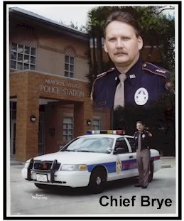 Gary M. Brye   Chief of Police, Memorial Villages Police Department (ret.)