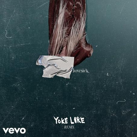 """lovesick. (Yoke Lore Remix)"" ♩ OUT NOW."