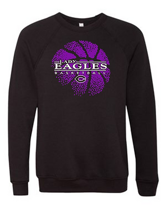 Personalized Lady Eagles Crewneck Sweatshirt