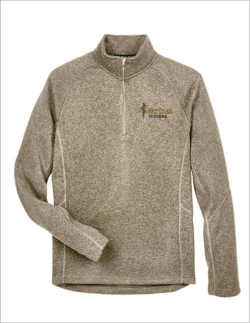 Unisex Devon and Jones Bristol Sweater Fleece 1/4 Zip DG792