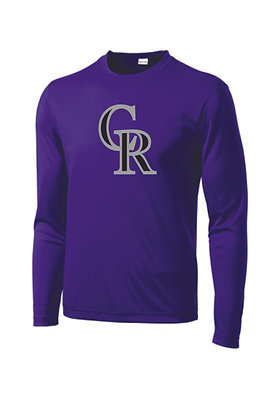 Personalized Roughriders Long Sleeve Dri Fit Shirt