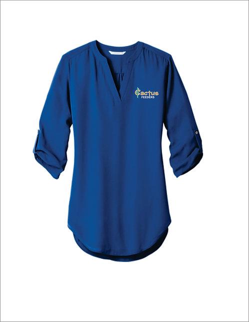 Women's Port Authority 3/4 Sleeve Tunic Blouse LW701