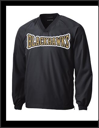 Bushland Blackhaws Black Pullover