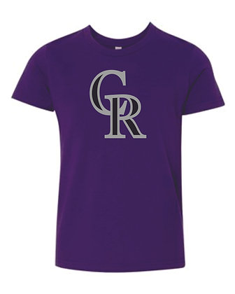 Personalized Roughriders Bella Canvas Short Sleeve