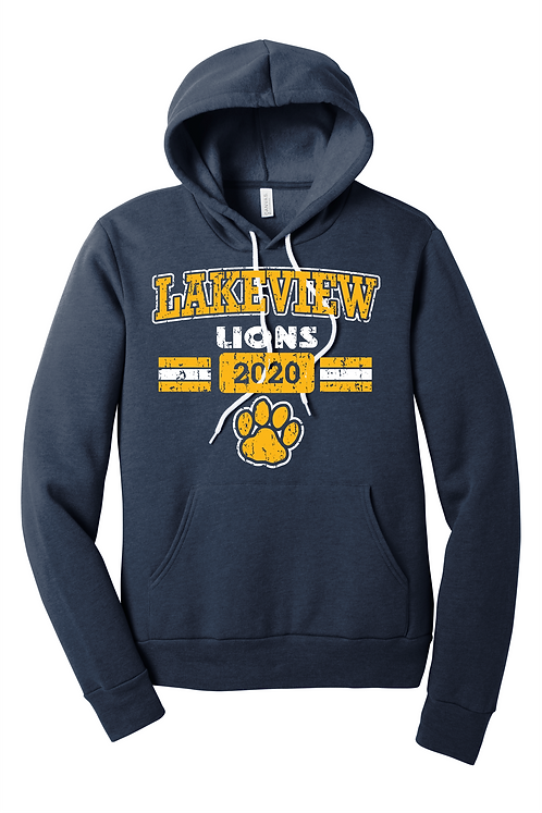 Lakeview Lions Bella Canvas Hoodie