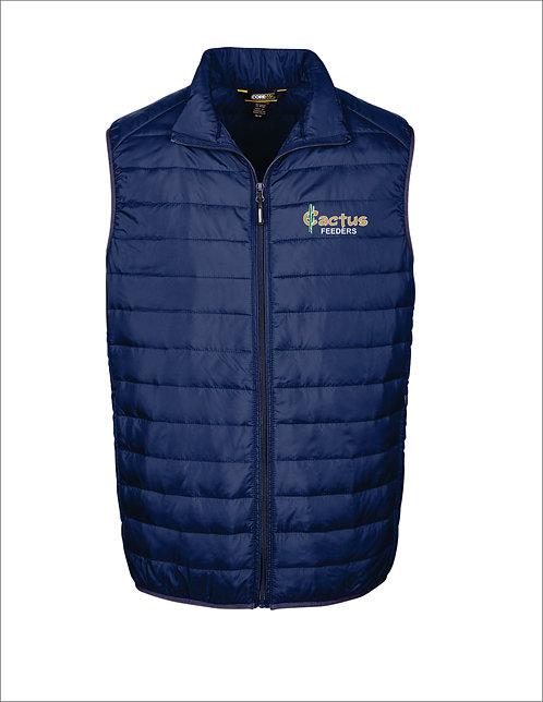 Men's Ash City Prevail Packable Puffer Vest CE702