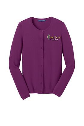 Ladies Port Authority Cardigan Sweater LSW287
