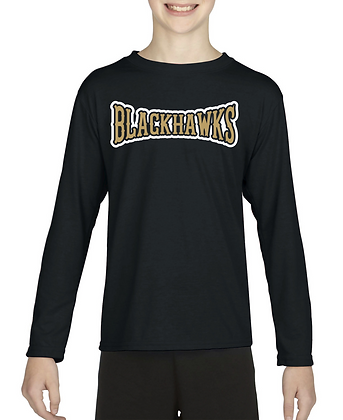 Bushland Blackhawks Gildan Performance Long Sleeve