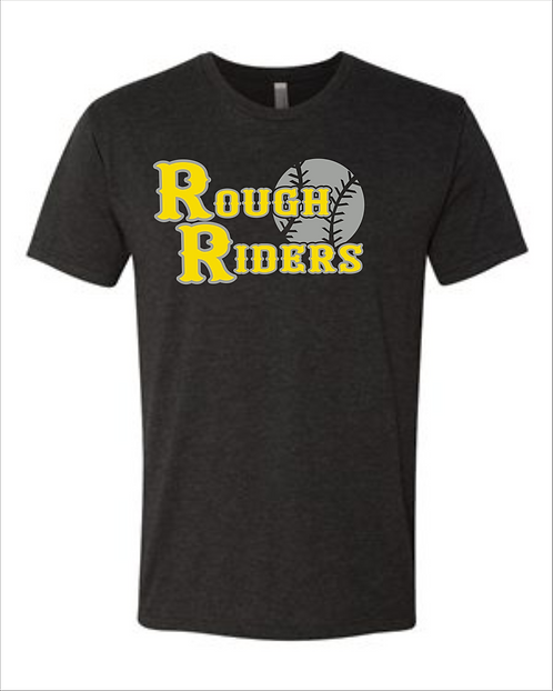 PersonalizedRough Riders Next Level Triblend with Player Name and Number on Back