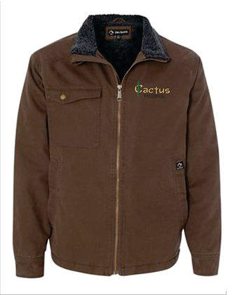 Dri Duck Endeavor Canvas Jacket w Sherpa Lining 5037